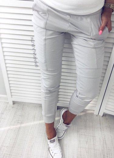 Spodnie DRESOWE jasnoszare