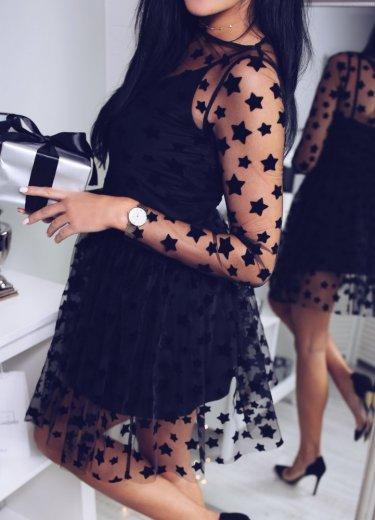 Sukienka LIKE A STAR czarna
