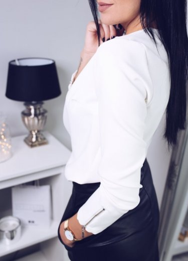 Bluzka ELEGANCE - biała