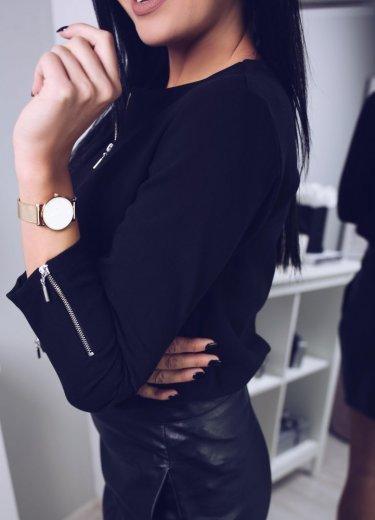 Bluzka ELEGANCE - czarna