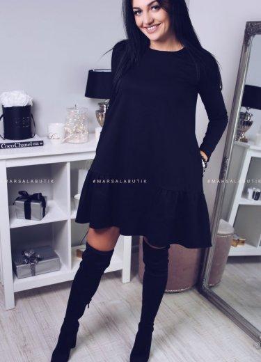 Sukienka VICTORIA - czarna