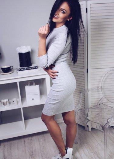 Sukienka KYLIE jasnoszara