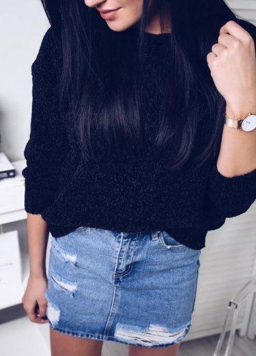 Spódniczka EVRA- jeansowa