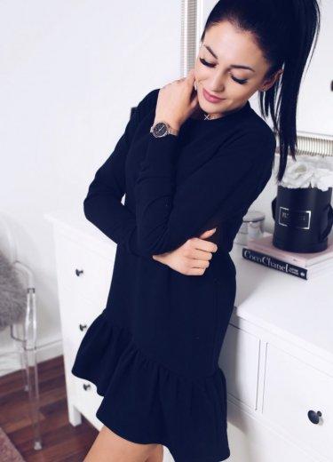 Sukienka RIVIA BASIC - czarna