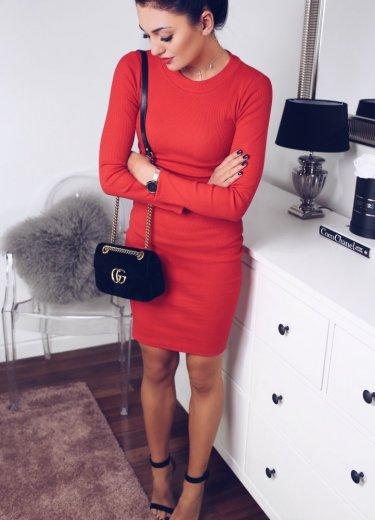 Sukienka KYLIE czerwona