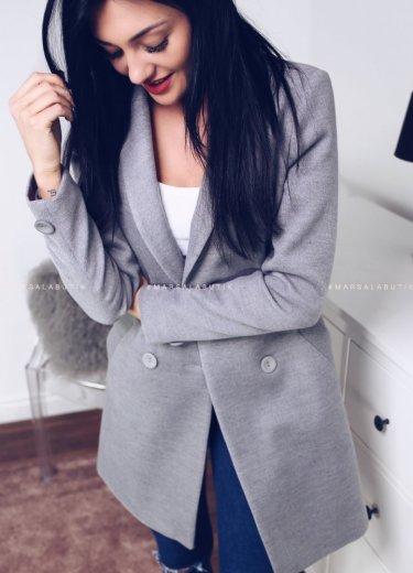 Płaszcz CITY - szary