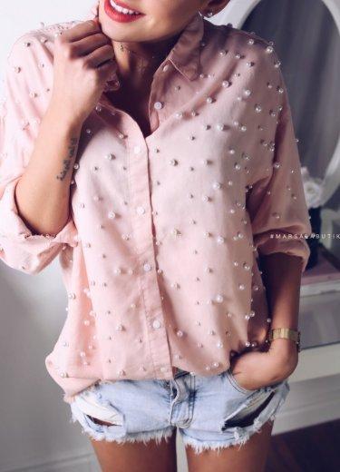 Koszula PEROLA - puder