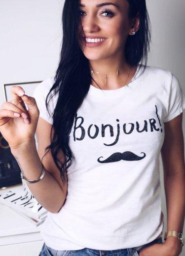 T- shirt BONJOUR!