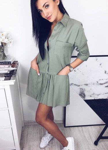 Sukienka NAPOLI - khaki