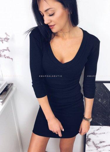 Sukienka KYLIE V czarna
