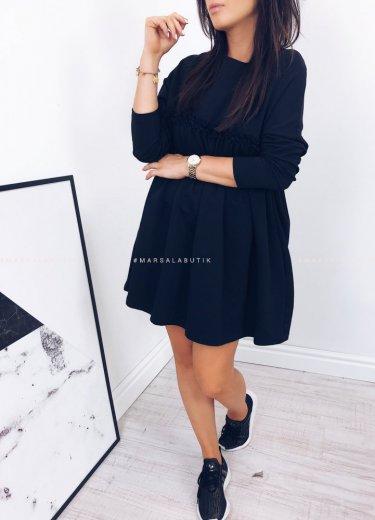 Sukienka LULLA LONG w kolorze czarnym