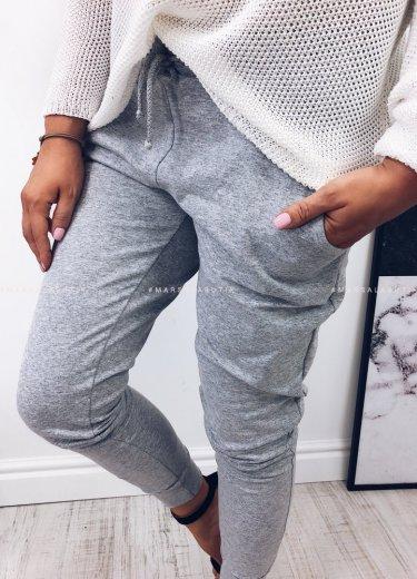 Spodnie dresowe COMFORT BASIC szare