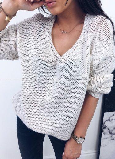 Sweter SUGAR ecru