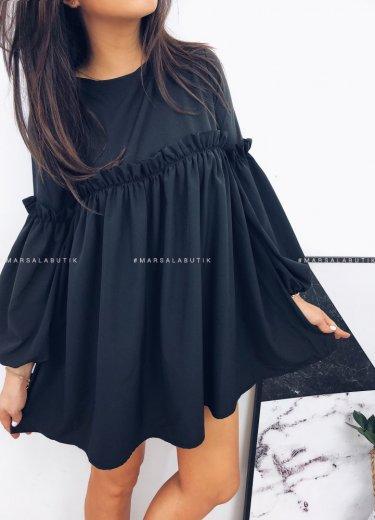 Sukienka BLOSSOM DRESS czarna