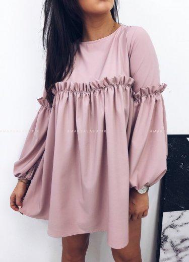 Sukienka BLOSSOM DRESS puder