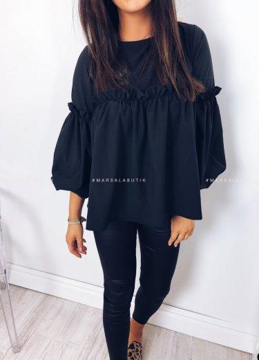 Bluzka BLOSSOM czarna