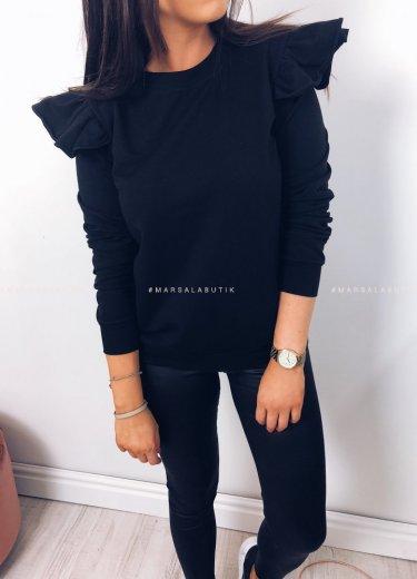 Bluza WINGS w kolorze czarnym