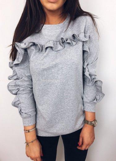 Bluza JOLLY w kolorze szarym