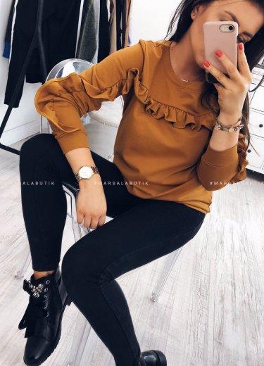 Bluza JOLLY w kolorze musztardowym