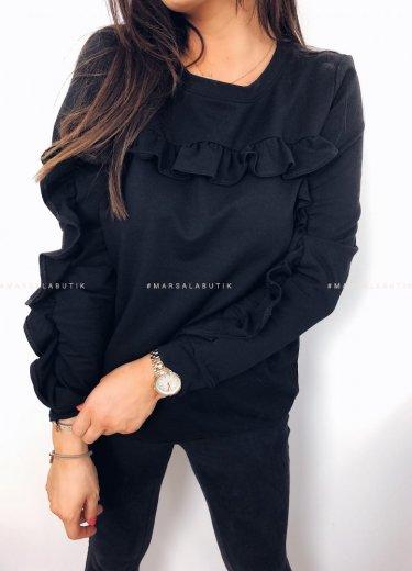 Bluza JOLLY w kolorze czarnym