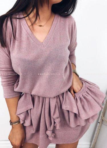 Sukienka CREMA puder