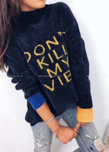 Sweter VIBE granat