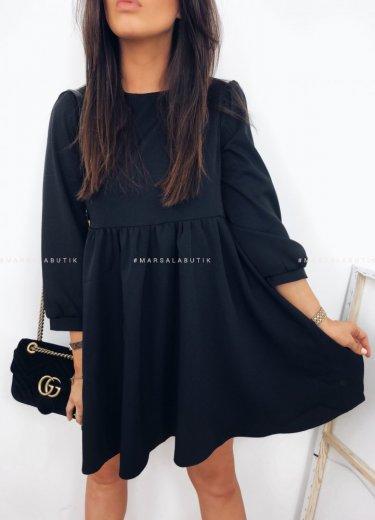 Sukienka PAULA w kolorze czarnym