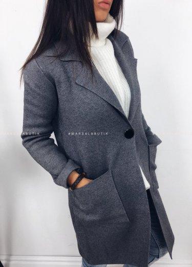 Płaszcz szary - REMEMBER