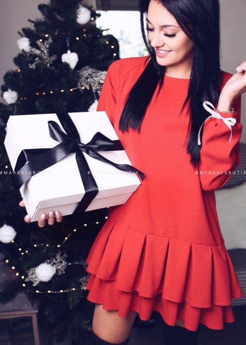 Sukienka ROYAL czerwona