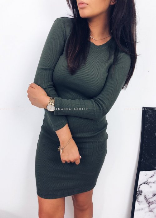 KYLIE DRESS KHAKI