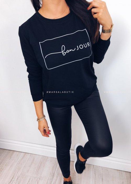 Bluza BONJOUR czarna