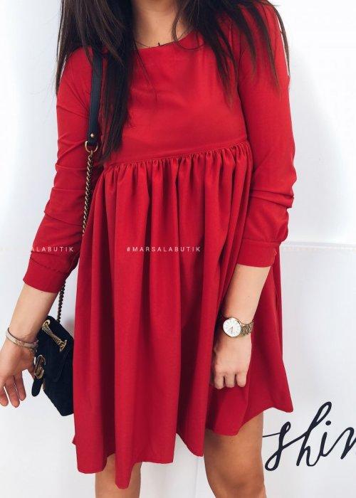 Sukienka NATALY czerwona