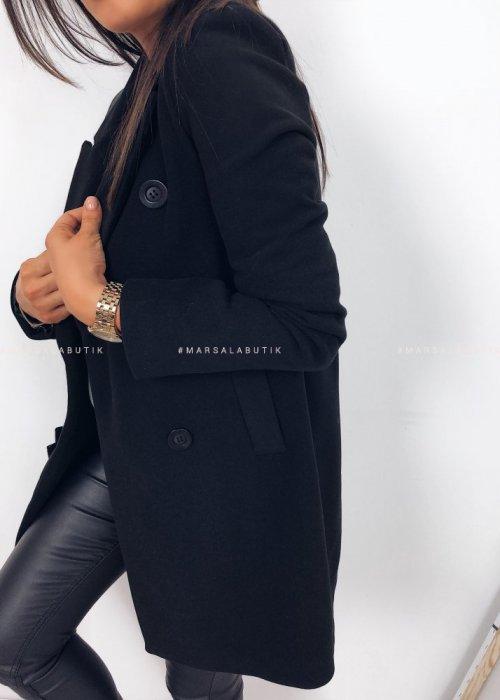 Płaszcz DIVISION czarny