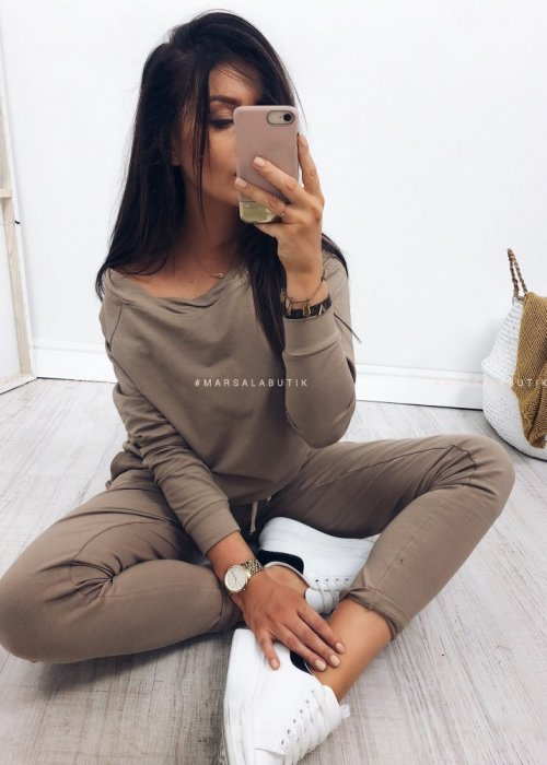 MAISON MOCCA TWO PIECE TRACKSUIT