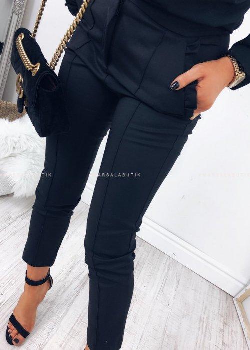BLACK CIGARETTE PANTS – SUPREME