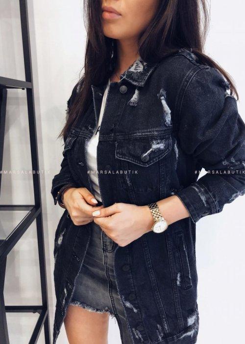 Katana BRAND jeansowa czarna