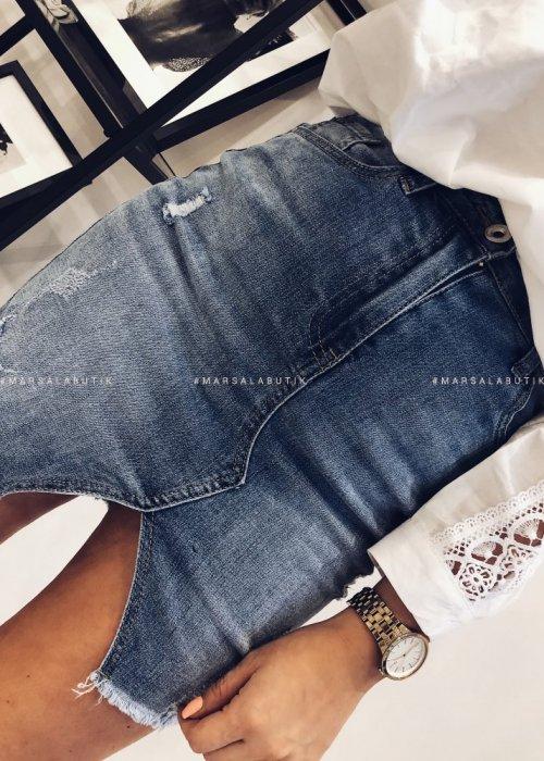 Mini denim skirt – FRESH