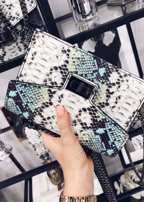 SNAKE GLAM mint bag