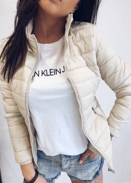 Quilted jacket LEGEND beige