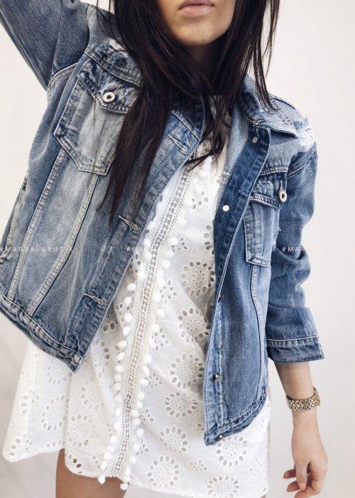 Short denim jacket – UNIVERSAL