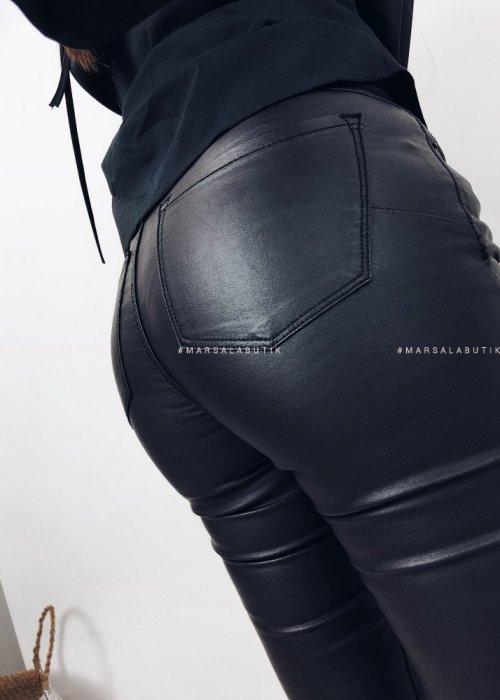 Spodnie THIN woskowane