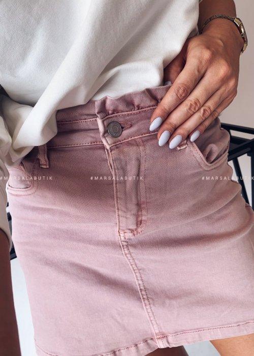 BONITA skirt with pink frill