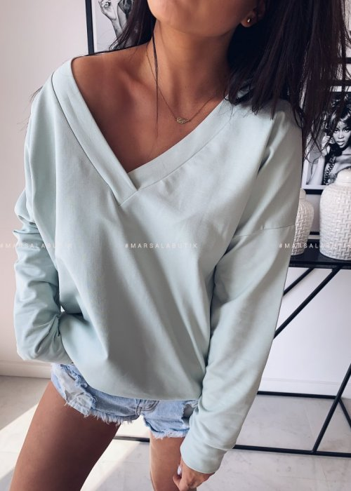 POPULAR long sleeved tunic – mint