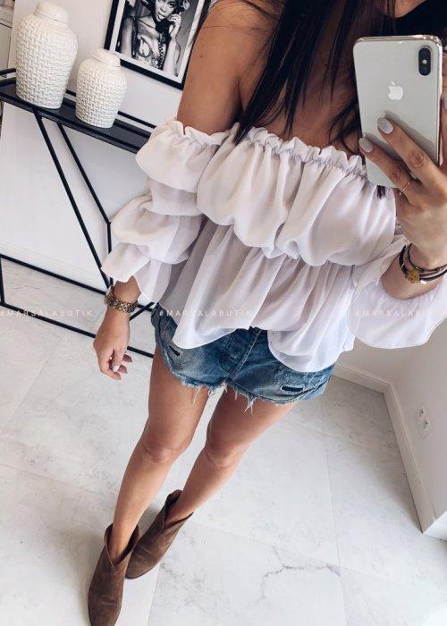 Bluzka PENELOPE biała