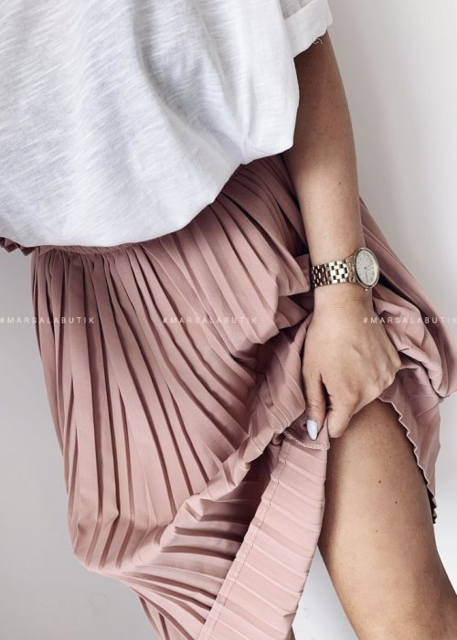 Pleated skirt SOPHIE pink
