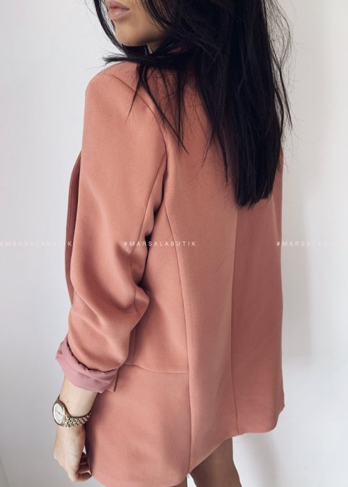 CLASSIC jacket by MARSALA coral