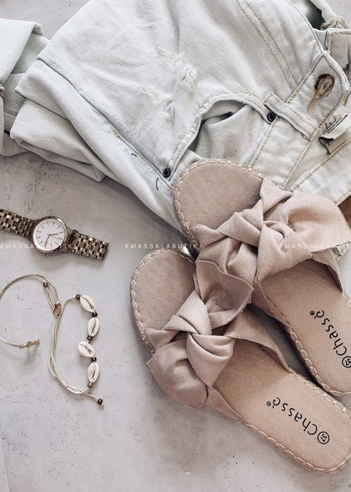 Flip flops RESTO beige