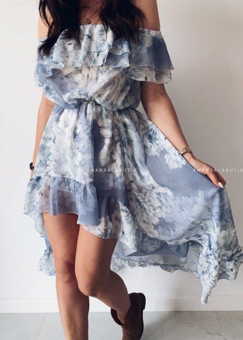 Sukienka maxi PALMBAY blue