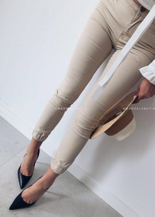 Spodnie bojówki TOMMY beż jasny