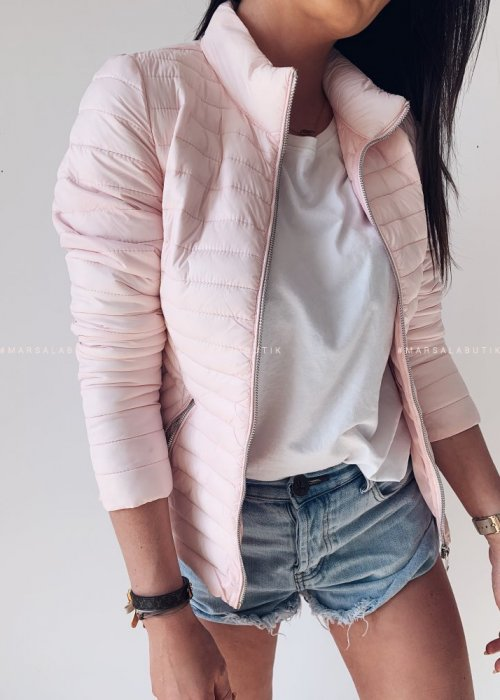 LOFT jacket quilted powder